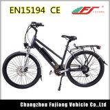 リチウム電池のディスクブレーキが付いている容易な制御された都市電気バイク