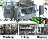 Flaschen-Aqua-steigende füllende mit einer Kappe bedeckende Maschinen