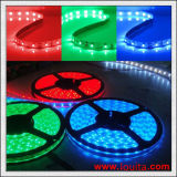 Tira flexible impermeable 5050 de DC12V DC24V RGB LED