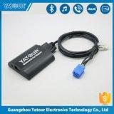 Les kits de voiture émetteur récepteur Bluetooth Adaptateur audio sans fil Kit voiture avec prise jack auxiliaire 3,5 mm Chargeur de voiture USB