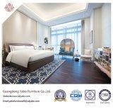 Het commerciële Meubilair van de Slaapkamer van het Hotel met Houten Bed (yb-GN-9)