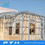 Luz de luxo prefabricadas econômica Villa de aço para viver Home China Fornecedor