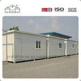 Chambre préfabriquée économiseuse d'énergie de structure métallique pour l'entrepôt de bureau du dortoir de l'ouvrier