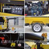 6.7kw 일본 Kubota 디젤 엔진 발전기 9m 돛대를 가진 이동할 수 있는 등대