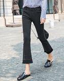 Tricoté coton couleur denim pantalons