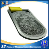 Nuova medaglia promozionale del metallo di sport del premio del ricordo di disegno con il nastro