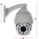 4X камера CCTV PTZ наблюдения люкса сигнала 1080P низкая