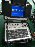 macchina fotografica di controllo dello scolo della conduttura di inclinazione della vaschetta del cavo della vetroresina dell'asta di spinta 120m di 9mm video con il contatore V8-3288PT-1 del tester