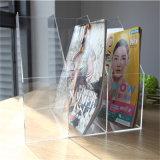 Présentoir acrylique clair de livre