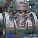 Valvola a saracinesca serrata cofano aumentante della flangia del gambo dell'acciaio di getto
