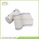 Atadura médica do Crepe do salvamento Emergency do algodão do Spandex