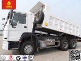 Autocarro con cassone ribaltabile di Euro2 266-420HP Sinotruk HOWO 6X4 per costruzione