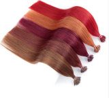 Estensione Nano dei capelli dei branelli, capelli umani Pre-Legati di Keratine