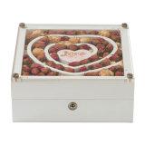 La Caja de Regalo de madera MDF Pulsera Anillo joyas embalaje