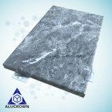 돌 곡물 실내 벽 알루미늄 클래딩 알루미늄 실내 벽 정면