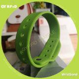 Wrs27 kundenspezifisches Band, RFID Wristband, Sicherheits-Armbänder