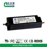 En el exterior el controlador LED 50W 45V resistente al agua IP65