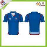 Dreamfox Qualitäts-Sportkleidung-kundenspezifisches Sublimation-Polo-Hemd für Männer