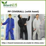 두건을%s 가진 처분할 수 있는 PP 짠것이 아닌 작업복, 페인트 작업복