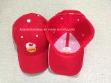 Fabrik-Erzeugnis-kundenspezifisches Firmenzeichen gestickte Baumwoltwill-Schwarz-Baseballmütze
