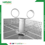 Metal de cuatro/tres caras que gira el estante contrario