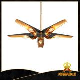 천장 선풍기 모양 아라비아 사람 작풍 장식적인 펀던트 빛 (GD18138P-5)