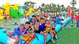 Настраиваемые надувные морского парка гигантские перемещение надувной водный парк для детей