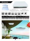 Novo Estilo de PI54 24W Untra Praça LED fino de luz de tecto