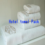 中国の工場卸売のホテル/ホーム綿の表面/浴室/手/ビーチタオル