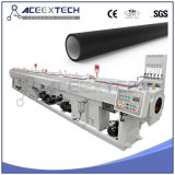 Linea di produzione del tubo dell'HDPE/riga di plastica dell'espulsione tubo del PE