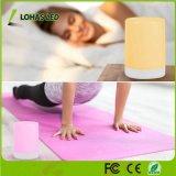 Usb-nachladbare Noten-Fühler-Tisch-Lampe RGB-Farbe, die intelligentes Nachtlicht für Hauptdekoration ändert