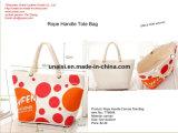Grande toile sacs Pack fourre-tout sac à main Femme avec poche avant