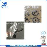 Autoadesivo adesivo del contrassegno del metallo di vendite superiori impermeabili