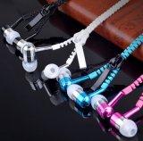 Matériau métallique Onsale prix bon marché à fermeture à glissière Ecouteur casque pour Mobile