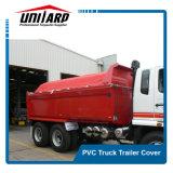 coperchio completo del camion del PVC 800GSM con gli occhielli dell'acciaio inossidabile