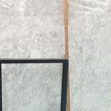 Prix de marbre normaux blancs d'usine de pierre de brame de Venato Carrare