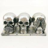 최신 판매 두개골 장식적인 수지는 기술을%s Halloween 두개골을 도매한다