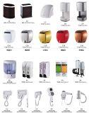 De moderne Muur van de Toebehoren van de Houder/van de Badkamers van het Weefsel van de Badkamers zet het Toiletpapier van het Roestvrij staal op