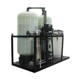 Becken-Wasserenthärter des Ionenaustauschharz-automatischer FRP