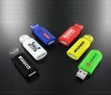Fördernder preiswerter Sprung-Plastik-USB-grelle Platte-Sprung-Blitz USB