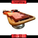 Kasino 2017 setzte LuxuxRoulette-Schürhaken-Tisch ein, den BerufsRoulette-Tisch-Fertigung kann für Spieler (YM-RT05) kundenspezifisch sein