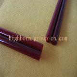 Vermelho escuro de alta qualidade do Tubo de vidro de sílica de quartzo