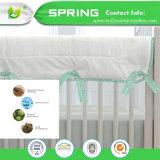 Hypoallergenic Luxus befestigte Breathable wasserdichten aufgetragenen antibakteriellen Baby-Krippe-Matratzeencasement-Deckel-China-Großverkauf