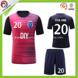 Différentes couleurs vertes Maillot de soccer Football Shirt personnalisé pour les femmes Unisex