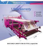 1,7 m de ancho total del aceite de máquina de prensa de calor rodillo
