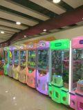 La macchina premiata Colourful di divertimento della macchina del gioco del regalo della macchina del gioco della gru del giocattolo
