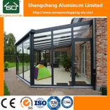 Pergolas d'alliage d'aluminium avec le toit et la porte coulissante