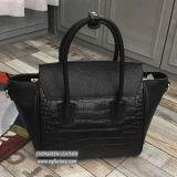 Madame Bags de bureau de sac de main de cuir véritable de sac à main de collision de 2017 couleurs avec le prix de gros Emg5260