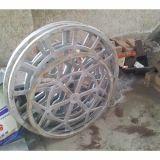 Gegoten Aluminium van de Legering van het Aluminium van het aluminium het Afgietsels Gegoten