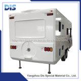 Corpo Refrigerated FRP do caminhão do transporte com Ce